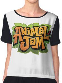 Animal Jam Logo Chiffon Top