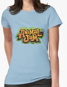 Animal Jam Logo Womens Fitted T-Shirt