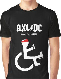 Funny AXL/DC Leipzig Graphic T-Shirt