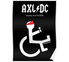 Funny AXL/DC Leipzig Poster