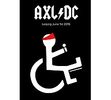 Funny AXL/DC Leipzig Photographic Print