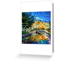 modern composition 08 by rafi talby Greeting Card