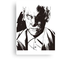 Angry Doctor Who Canvas Print