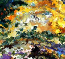 modern composition 08 by rafi talby Sticker