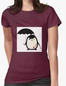 Murderous Penguin Womens Fitted T-Shirt