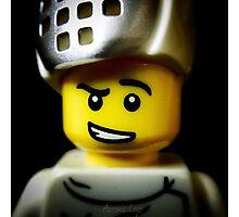 Lego Fencer minifigure Photographic Print