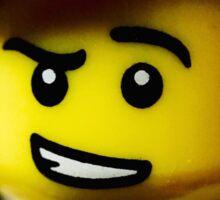 Lego Fencer minifigure Sticker