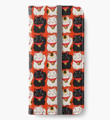 lucky cat phone iPhone Wallet/Case/Skin