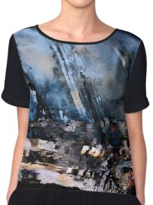 Forces of Nature Chiffon Top