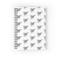 Knitten-kitten White version Spiral Notebook