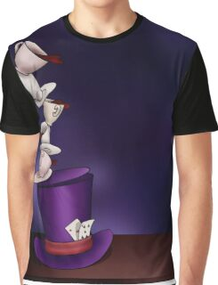 Mad Hatter Tea Party Graphic T-Shirt