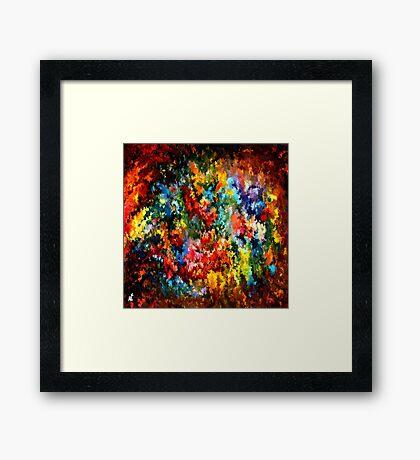 modern composition 09 by rafi talby Framed Print