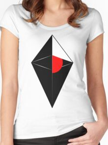 No man's sky cool logo poster, shirt, sticker and much more Women's Fitted Scoop T-Shirt
