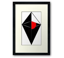 No man's sky cool logo poster, shirt, sticker and much more Framed Print