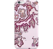 Pink CrossSection iPhone Case/Skin