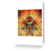 modern composition 10 by rafi talby Greeting Card