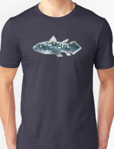 Stained Glass Coelacanth Unisex T-Shirt