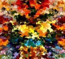 modern composition 10 by rafi talby Sticker