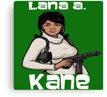 Lana Kane - Iconic Pose Canvas Print