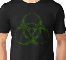 Biohazard symbol 4 green Unisex T-Shirt