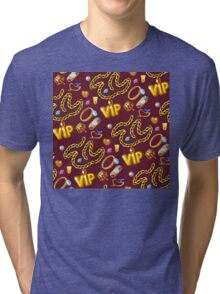 gold party  2 Tri-blend T-Shirt
