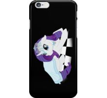 White Queen Rarity on white checkers iPhone Case/Skin