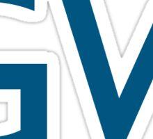 GW modern logo Sticker