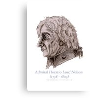 Admiral Lord Nelson (3), tony fernandes Canvas Print