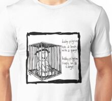 Baby Pilgrim Book With A Page Unisex T-Shirt