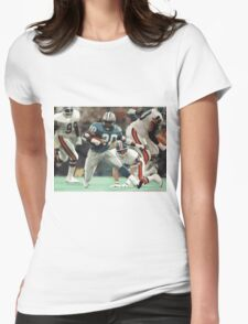 Barry Sanders Womens Fitted T-Shirt