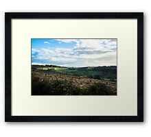 On the country Framed Print
