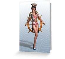 O Captain! My Captain! Greeting Card