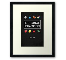 #151 :: Original Champion Framed Print