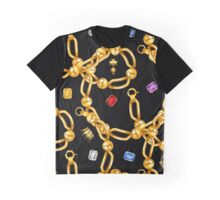 gold party  3 Graphic T-Shirt