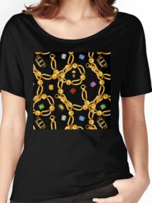 gold party  3 Women's Relaxed Fit T-Shirt