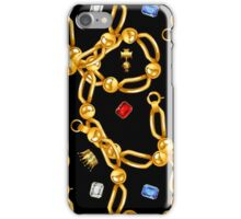 gold party  3 iPhone Case/Skin