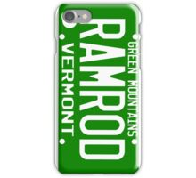 Car Ramrod iPhone Case/Skin