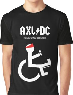 Funny AXL/DC Hamburg Graphic T-Shirt