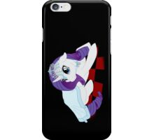 White Queen Rarity on red checkers iPhone Case/Skin