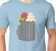 Your Trash Goes Here Pixel Art Illustration Unisex T-Shirt
