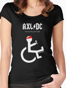 Funny AXL/DC Hamburg Women's Fitted Scoop T-Shirt
