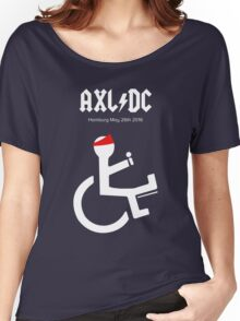 Funny AXL/DC Hamburg Women's Relaxed Fit T-Shirt