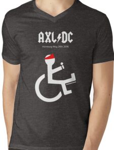 Funny AXL/DC Hamburg Mens V-Neck T-Shirt