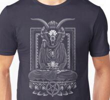 Baphomet Nirvana White Halftone Unisex T-Shirt
