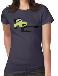 Bruce Lee C64 Womens Fitted T-Shirt