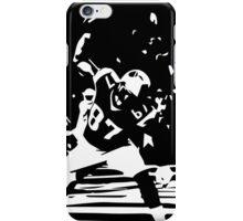 Rob Gronkowski Spike black/white iPhone Case/Skin