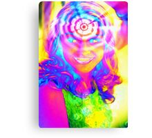 ELECTRIC RAINBOW Canvas Print