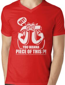 Hey You Want A Piece Of This Mens V-Neck T-Shirt
