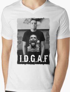 Nate Diaz, I.D.G.A.F. Mens V-Neck T-Shirt