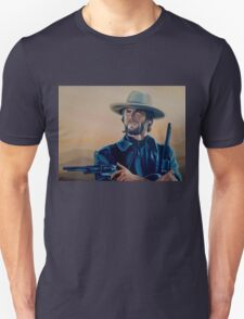 Clint Eastwood Painting Unisex T-Shirt